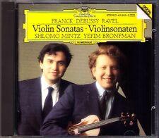 Shlomo Mintz Yefim Bronfman: Franck Debussy Ravel Violin Sonata Violinsonaten CD