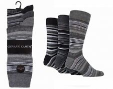 NEW 3 pairs Mens Giovanni Cassini Socks Buenos Aires size 6-11