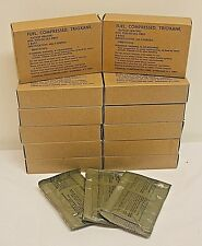 12 Boxes (36 Bars) Trioxane Fuel Fire Starter Prepper Military Ration Heat 3/box
