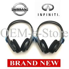 2013 Infiniti QX56 XJ35 Nissan Pathfinder Rear DVD Entertainment TWO Headphones