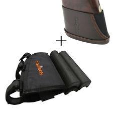 Rifle Cheek Rest Piece Cartridges Holder Mag Pouch+Slipon Recoil Pads Buttstock
