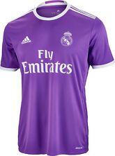 100% Official Adidas Real Madrid Unisex Junior Kids Away Jersey 2016-17