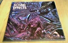 BBC SOUND EFFECTS No 3 MONO RE UK LP 1970 PYE RED VINYL AFRICAN CROWDS SHIPS