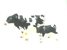 4838) Schleich 13632 Bulle Kuh Ochse +  (13798) Kalb Schleichtiere Bauernhof