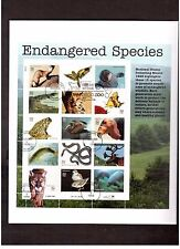 FDC First Day Issue sheet Stamps # 3105 32 cent Endangered Species 1996