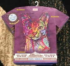 Boxed Dean Russo Abyssinian Cat T-Shirt Holiday Gift Authentic Sealed Mountain