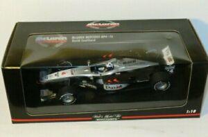 1/18  McLaren Mercedes MP4-16   David Coulthard   2001 Season