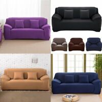 1 2 3 Seater Sofa Covers Lounge Slipcover Stretch Protector Recliner Couch Chair