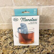 Fred Manatea Manatee Tea Infuser Gray Silicone New