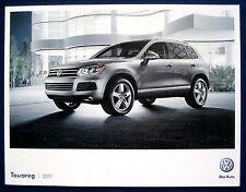 Prospekt brochure 2011 Volkswagen VW Touareg (USA)