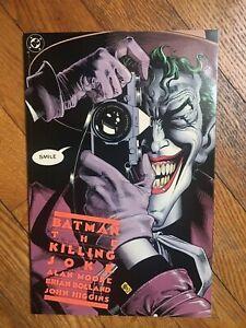 DC COMICS BATMAN THE KILLING JOKE SIXTH PRINTING NM/NM MOORE BOLLAND UNREAD