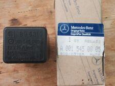 Mercedes Benz NEW Fuel Pump Relay A0015450805