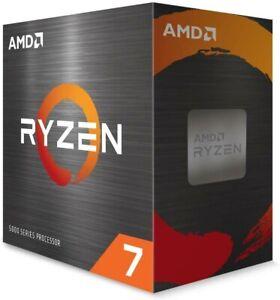 NEW AMD Ryzen 7 5800X 4th Gen 16-thread Unlocked CPU Processor 100-100000063WOF