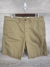RRL Ralph Lauren Men's Size 34 Officers Field RT Hand Twill Military Shorts