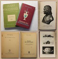 Hans Dominik 2 Bände Science-Fiction Atlantis 1Tl 1925 Wunder des Schmelztiegels