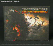 Transformers Fall Cybertron ART OF APOCALYPSE Preview Book High Moon Activision