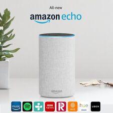 All-new Amazon Echo (2nd Generation) Wireless Alexa Speaker - Sandstone Fabric