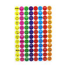 960 Children Emoji Face Reward Stickers Teacher Aid Potty Training Chart School