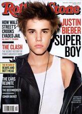 Rolling Stone Magazine #1125 March 3, 2011 music JUSTIN BIEBER