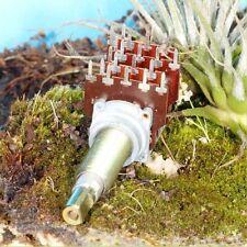 POTENTIOMETRE COAXIAL QUADRUPLE A COMBINAISON + INTER SPECIAL AMPLI HI-FI TUBES
