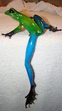 "Tim Cotterill - Frogman-"" DRAKE GREEN BLUE  SHOW FROG ""-----BRONZE FROG"