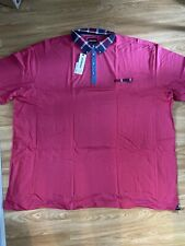 Mish Mash Jeans New Mens Pink 5XL Polo Shirt RRP £35
