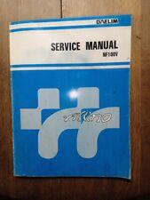 manuel d'atelier revue technique Service manual DAELIM NF 100 V ALTINO( English)