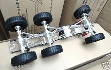 1/10 6x6 High-End Fully CNC Metal Rock Crawler Truck Chassis Locked Diff Gear