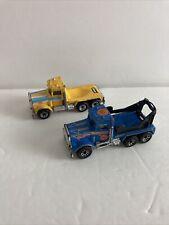 Vintage 1981 Matchbox Peterbilt Truck LOT X2 Cement Company Pace Construction