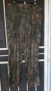 Cabela's Camo Realtree Long Sleeve  XL Shirt T-Shirt and matching Pants Size LG