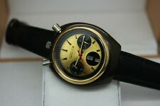 Rare Vintage 1970's Citizen Bullhead Chronograph 8110A Automatic Gents Watch