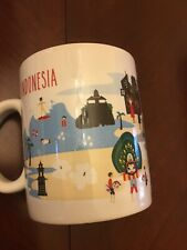 Starbucks Coffee  Mug  Indonesia 2014 16oz