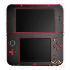 SopiGuard Brushed Gunmetal Grey Vinyl Skin Full Body For New 3DS XL LL