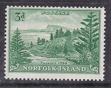 Norfolk Island ^sc#23 hinged $@ dca 14norf