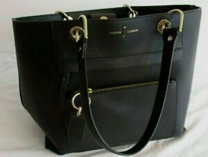 JASPER CONRAN Ladies' Black Large Shoulder Bag #G4