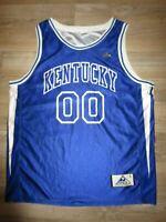 Kentucky Wildcats #00 Basketball Team Apex Jersey LG L mens