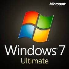 Microsoft Windows 7 Ultimate 32&64 Bits OEM - Win 7 Ultimate Produktkey per mail