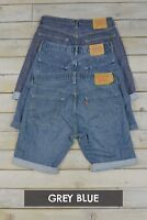 Mens Distressed Vintage Levis Denim Shorts - Levi Strauss - Various Sizes