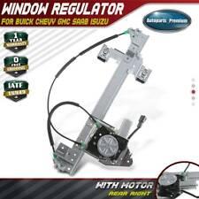 Power Window Regulator w/ Motor for Chevy Trailblazer GMC Envoy 02-09 Rear Right