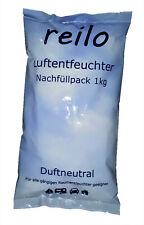 10x 1kg (1,75?/kg) reilo Raum-/ Luftentfeuchter Granulat im Vliesbeutel