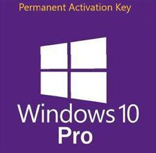 Windows 10 Pro 32/64 bit Permanent Activation Key
