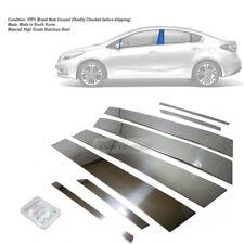 Stainless Steel Chrome Window Pillar Molding 8P For KIA 2013-18 Cerato Forte K3