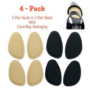 Women Forefoot Shoe Metatarsal Pads Ball Of Sponge Foot Cushions Inserts Insoles