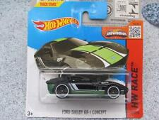 Hot Wheels 2015 # 178/250 Ford Shelby gr-1 Concepto FUNDA NEGRA M