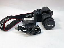 Canon EOS Rebel T4i 18.0MP Digital SLR Camera • 50mm &18-55mm EF-S IS II Lens