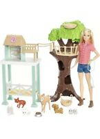 Barbie Animal Rescuer Doll And Playset With 8 Animals For Girls Free Shipping