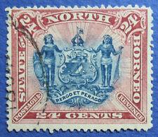 1894 NORTH BORNEO 24c SCOTT# 67 S.G.# 79c USED CS05313