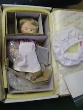 "Nib-Danbury Mint Campbell Kids ""The Dancing Chef"" Porcelain Doll.Sale"