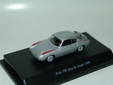 1 FIAT 750 ABARTH COUPE 1956 SILVER 1:43 STARLINE
