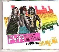 (CT611) FYA, Must Be Love - 2003 DJ CD
